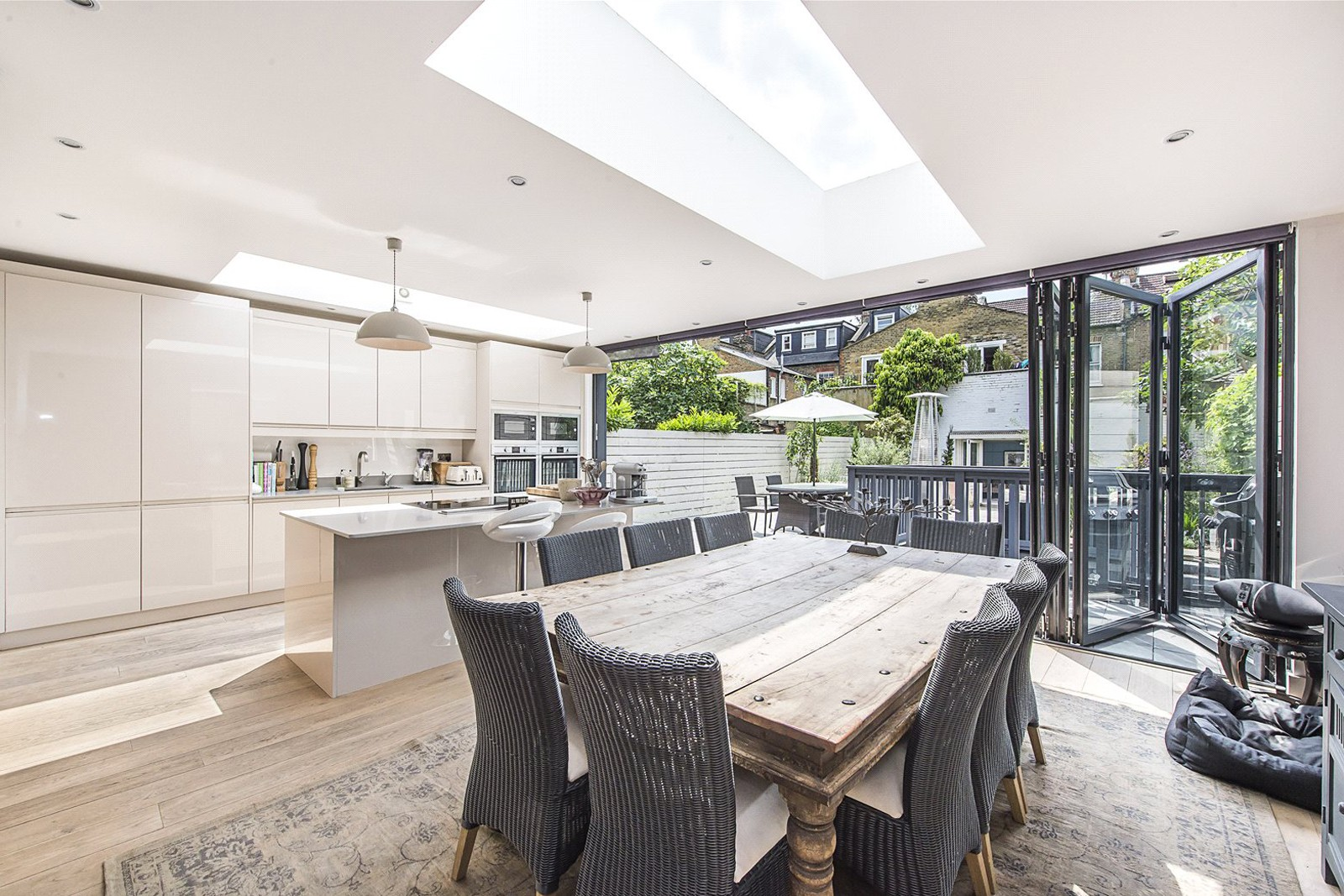 Kitchen house extensions builders in kensington for Kitchen extension ideas uk