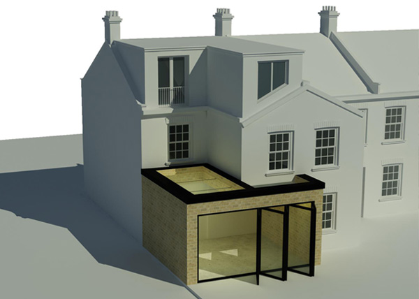 side return rear house extension architecture